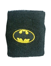 Batman Classic Shield Terry Cuff Wrist Sweatband