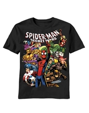 Spiderman T-Shirt, Spiderman Warmongers Black