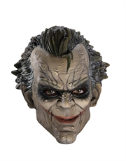 Joker Costume Accessory, Mens Batman Joker Arkham City 3/4 Mask