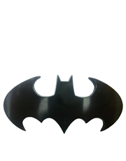 Batman Die Cut Black Logo Belt Buckle