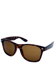 Cocktail Cruise Style Sunglasses, Tortoise Frame / Brown Lens