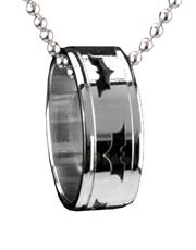 Batman Dark Knight Ring Necklace
