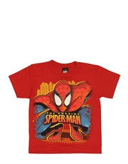Spiderman T-Shirt, Spiderman Kids T-Shirt, Spider Pounce Red