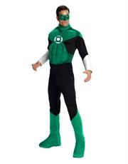 Green Lantern Costume, Mens Green Lantern Muscle Costume