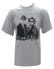 Blues Brothers T-Shirt, Blues Brothers Mission From God Grey