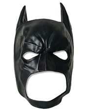 Dark Knight Rises Costume Accessory, Mens Batman 3/4 Mask