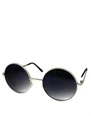 Teashade Sunglasses, Teashade Round Silver Purple Gradient LARGE Style 13