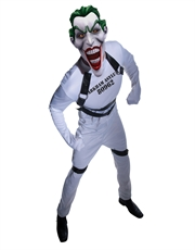 Joker Costume, Mens Batman Joker Straight Jacket Outfit