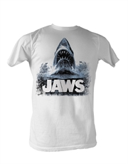 Jaws T-Shirt, Jaws Water White