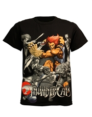 Thundercats T-Shirt, Thundercats Collage Black