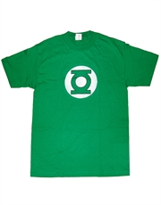 Green Lantern T-Shirt, Green Lantern Symbol Distressed Green