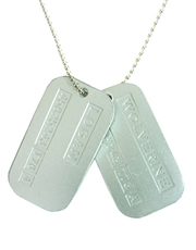 Wolverine Logan Dog Tags Necklace