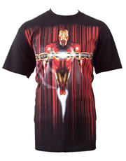 Iron Man T-Shirt, Iron Man Flight Black