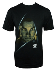 Star Trek T-Shirt, Star Trek Dark Captain Kirk Black