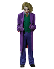 Dark Knight Costume, Mens Batman Joker Grand Heritage Costume Style 3