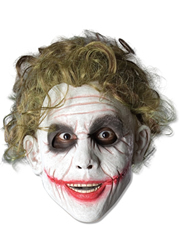 Dark Knight Costume Accessory, Mens Batman Joker Foam Mask