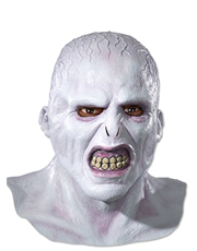 Harry Potter Costume Accessory, Mens Voldemort Full Mask