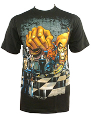 Green Goblin T-Shirt, Green Goblin Chess Black