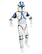 Star Wars Costume, Kids Clone Trooper Costume Style 1