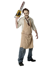 Texas Chainsaw Massacre Costume, Mens Leatherface Costume