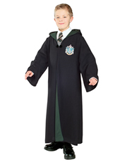 Harry Potter Costume, Kids Slytherin Robe Costume Style 2
