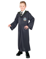 Harry Potter Costume, Kids Slytherin Robe Costume Style 1