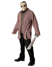 Friday the 13th Costume, Mens Jason Voorhees Costume Style 2