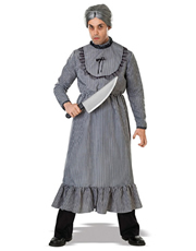 Psycho Movie Costume, Mens Norman Bates Mother's Dress Outfit