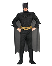 Dark Knight Rises Costume, Mens Batman Muscle Costume Style 2