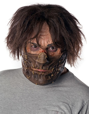 Texas Chainsaw Massacre Costume Accessory, Mens Leatherface Muzzled Mask Style 4