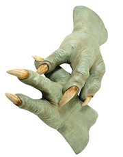 Star Wars Costume Accessory, Mens Yoda Hands