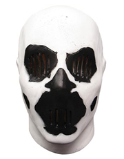 Watchmen Costume Accessory, Mens Rorschach Full Mask