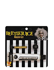 Beetlejuice Costume Accessory, Mens Beetlejuice Makeup Kit