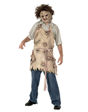 Texas Chainsaw Massacre Costume Accessory, Mens Leatherface Apron of Souls