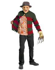Nightmare On Elm Street Costume, Mens Freddy Krueger Chest Of Souls Costume