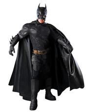 Dark Knight Rises Costume, Mens Batman Grand Heritage Costume Style 3