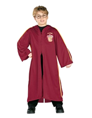 Harry Potter Costume, Kids Quidditch Robe Costume Style 1