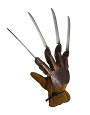 Nightmare On Elm Street Costume Accessory, Mens Freddy Glove Style 2