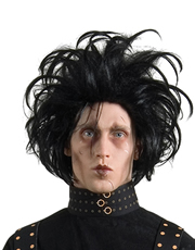 Edward Scissorhands Costume Accessory, Mens Edward Scissorhands Black Wig