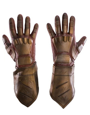 Watchmen Costume Accessory, Mens Nite Owl Gloves