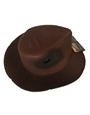 A Nightmare On Elm St Costume Accessory Hat, Mens Freddy Eva Molded Fedora