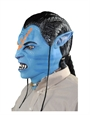 Avatar Costume Accessory, Mens Jake Sully Deluxe Full Mask